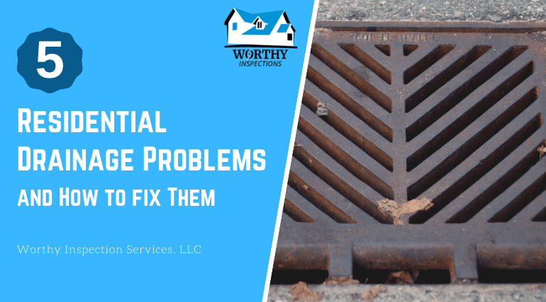 residential drainage problems