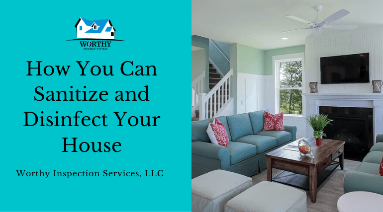 sanitizing your house