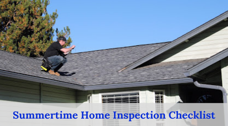 Summertime Home Inspection Checklist