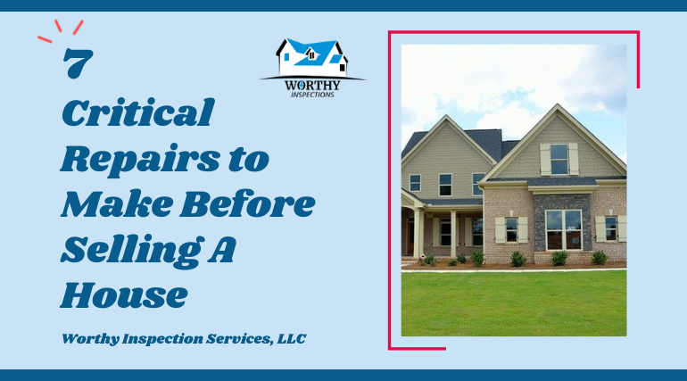 important repairs to make before selling a house