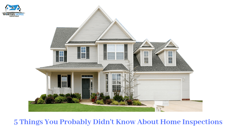 5 Things You Probably Didn't Know About Home Inspections